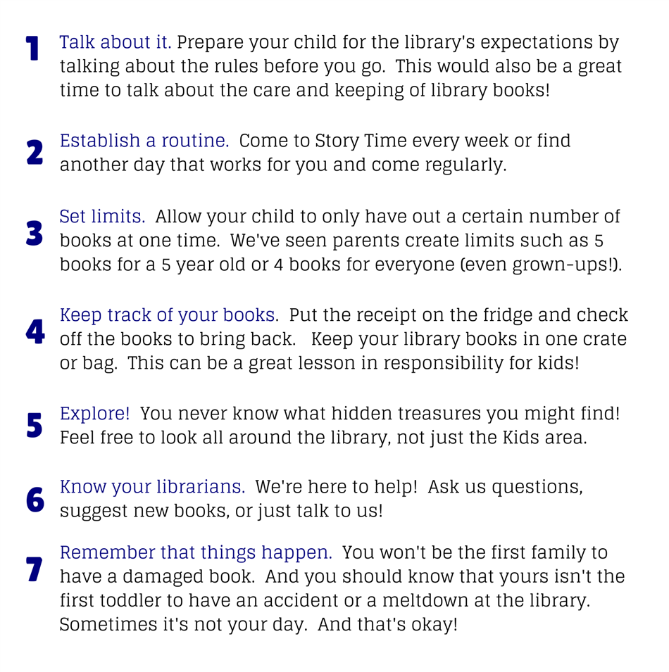 Tips for Library Success